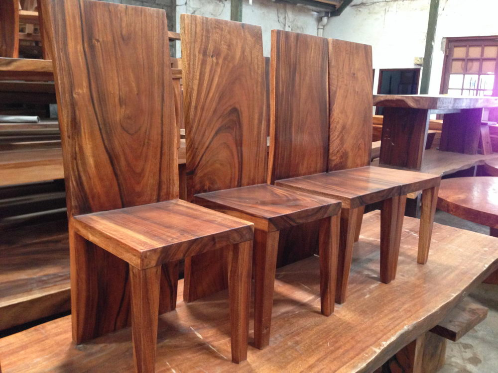 Chair Acacia Wood Ch01 Bali Wood Slab