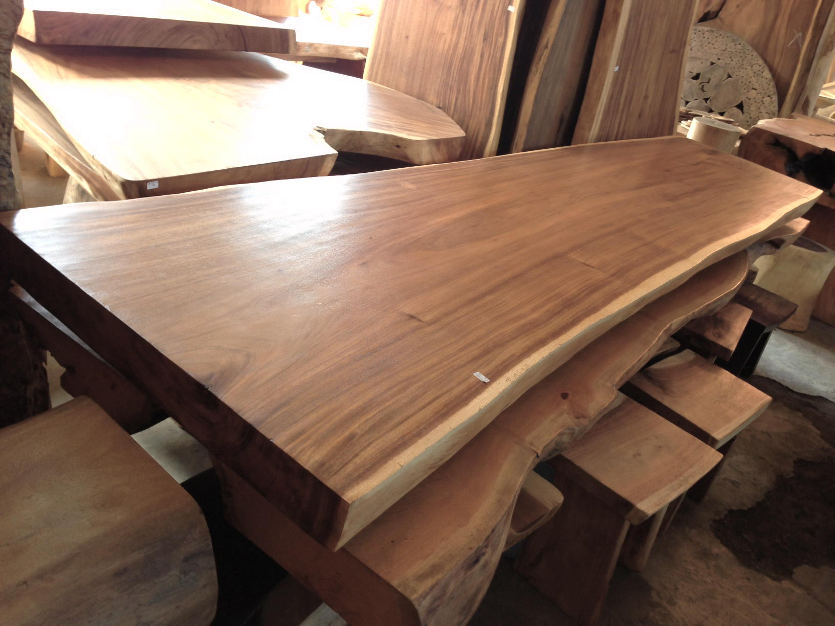 Acacia Table 350 Cm Bali Wood Slab