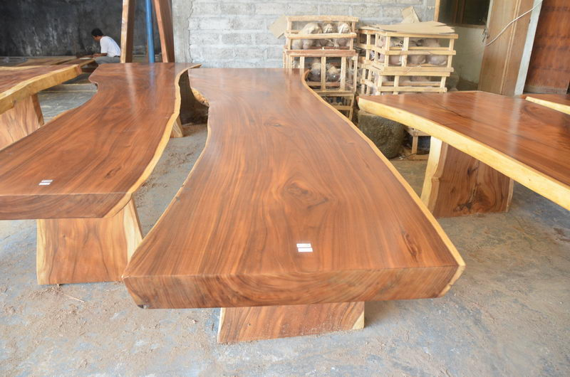 Acacia Wood Table 400 Cm Bali Wood Slab