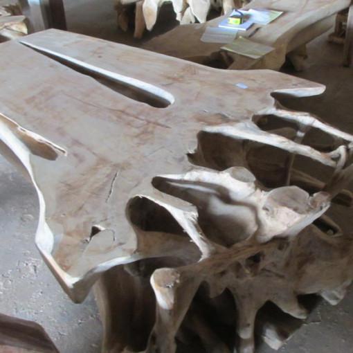 Teak Wood Slab Coffee Table: Coffee Table Teak Wood