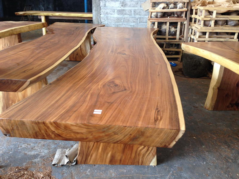 Acacia Wood Table 400 Cm Bali Wood Slab