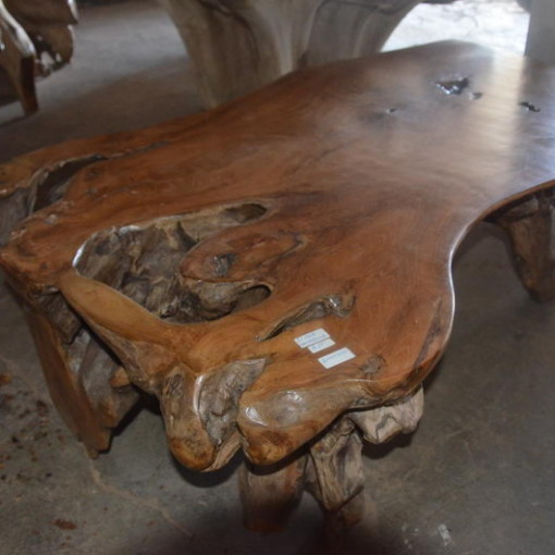 Teak Wood Slab Coffee Table: Coffee Table Teak Root